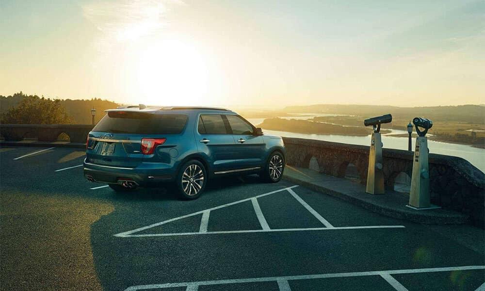 2018 Ford Explorer Platinum Lookout