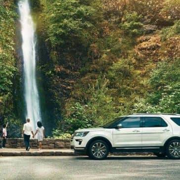 2018 Ford Explorer Platinum Waterfall