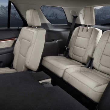 2018 Ford Explorer Rear Seats