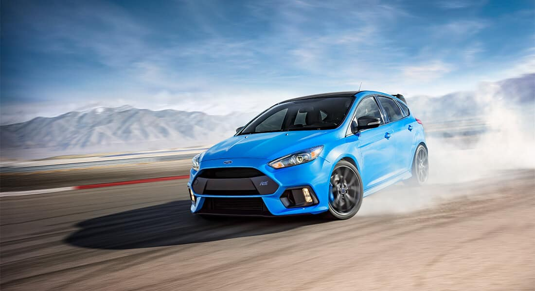 2018 Ford Focus RS Hatch Drifting