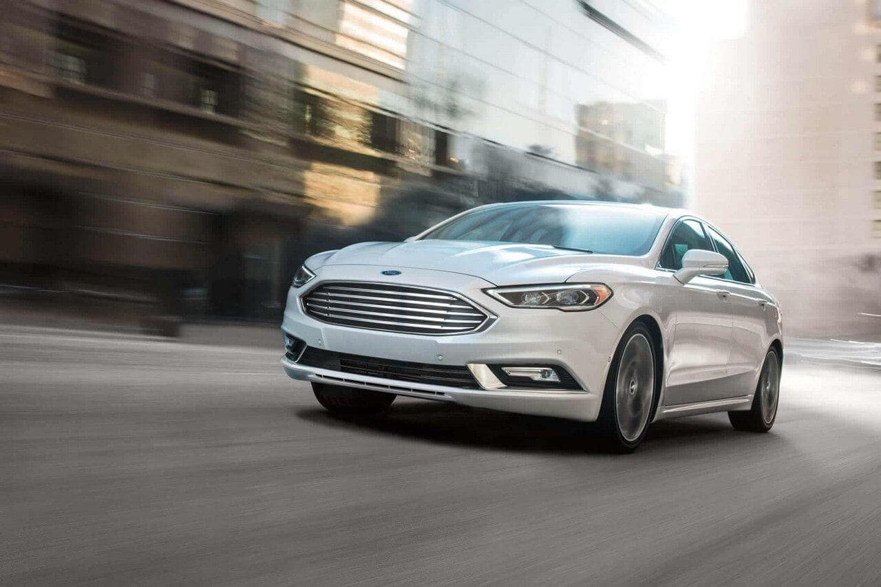 2018 Ford Fusion performance