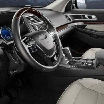2019 Ford Explorer interior dashboard