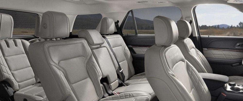 2019 Ford Explorer interior