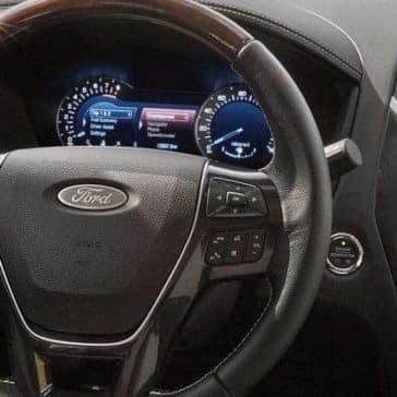 2019 Ford Explorer Steering Wheel