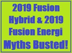 2019 Fusion Hybrid