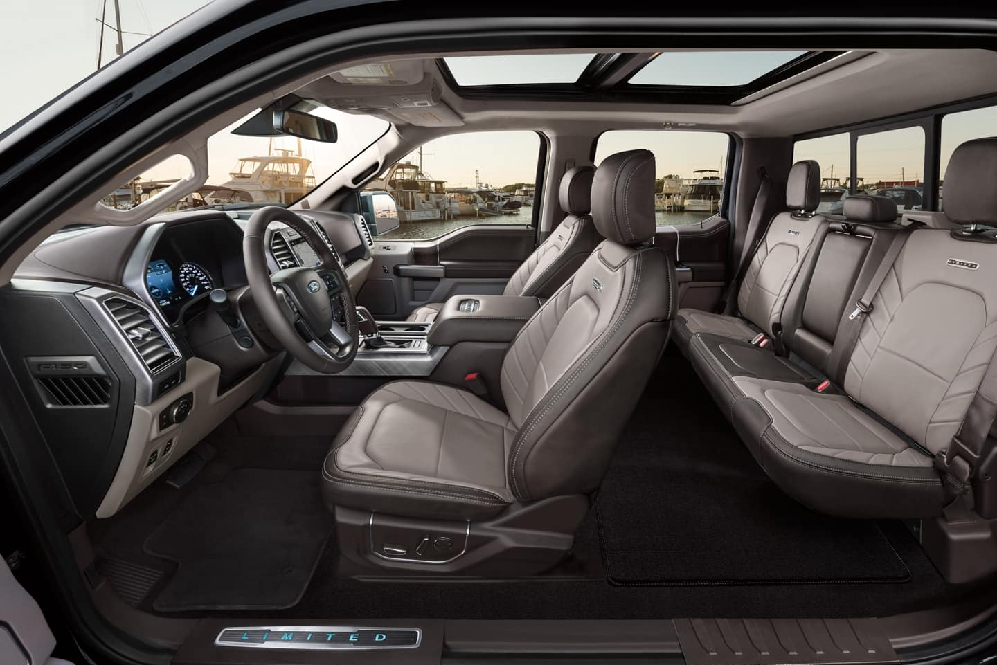 2020 Ford F-150 interior seating