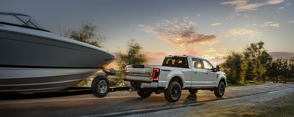 2020 Super Duty Platinum F-250 Crew Cab with Tremor Off-Road Package