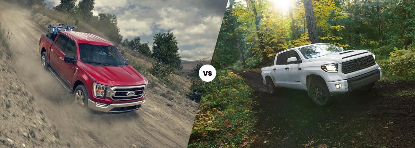 2021 Ford F-150 vs. 2021 Toyota Tundra