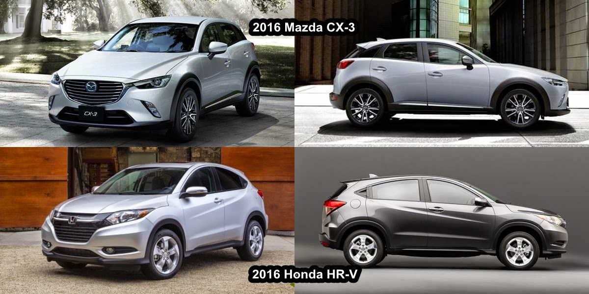 mazda cx 3 vs honda hr v comparison beach mazda. Black Bedroom Furniture Sets. Home Design Ideas