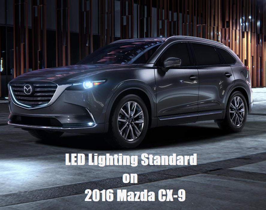 Best New Cars Under 15k >> LED Lighting Standard on 2016 Mazda CX-9 | Beach Mazda