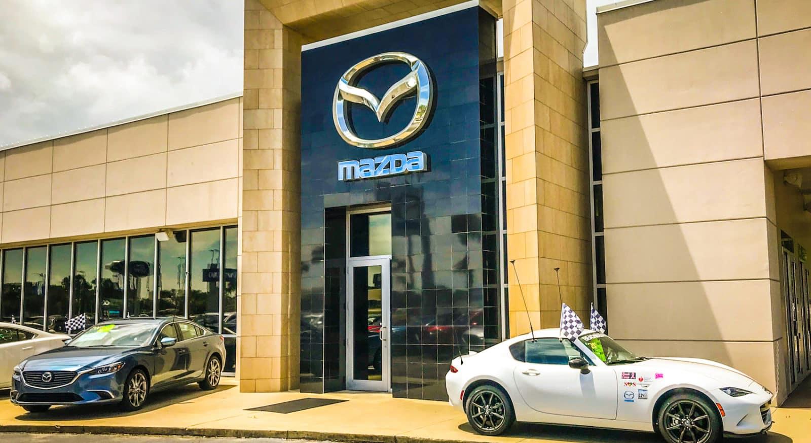 Mazda Homepage Background Image
