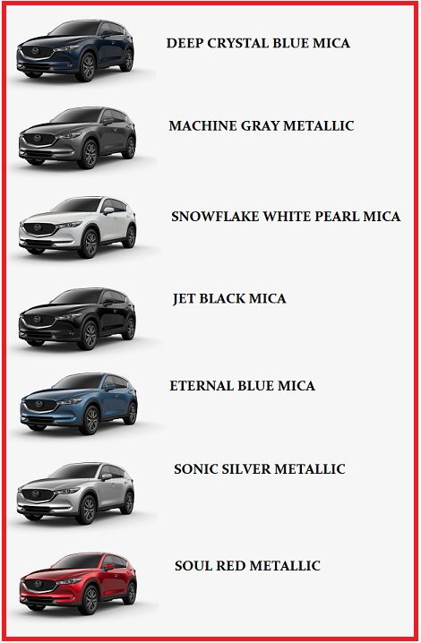 Colors Of Mazda Cx 5 Which One Is Right For You Beach Mazda