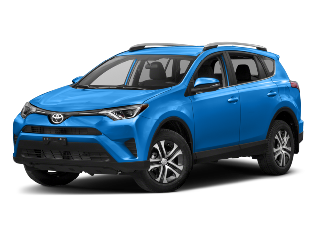 Blue 2018 Toyota RAV4