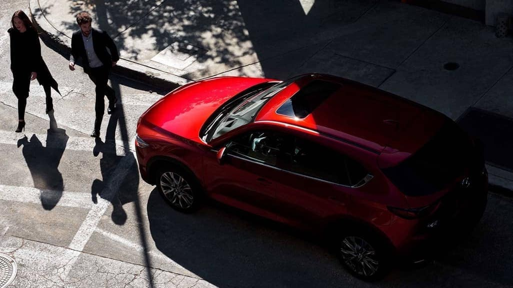 2019 Mazda CX-5 top down view