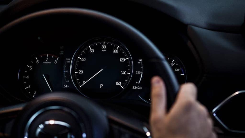 2019 Mazda CX-5 speedometer