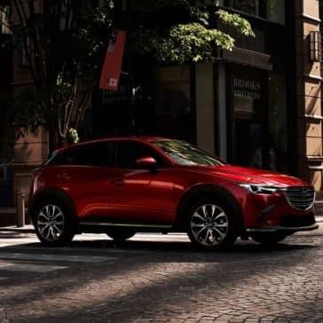 2019 Mazda CX-3 city street
