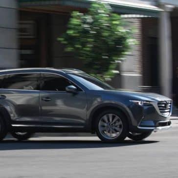 2019 Mazda CX-9 driving