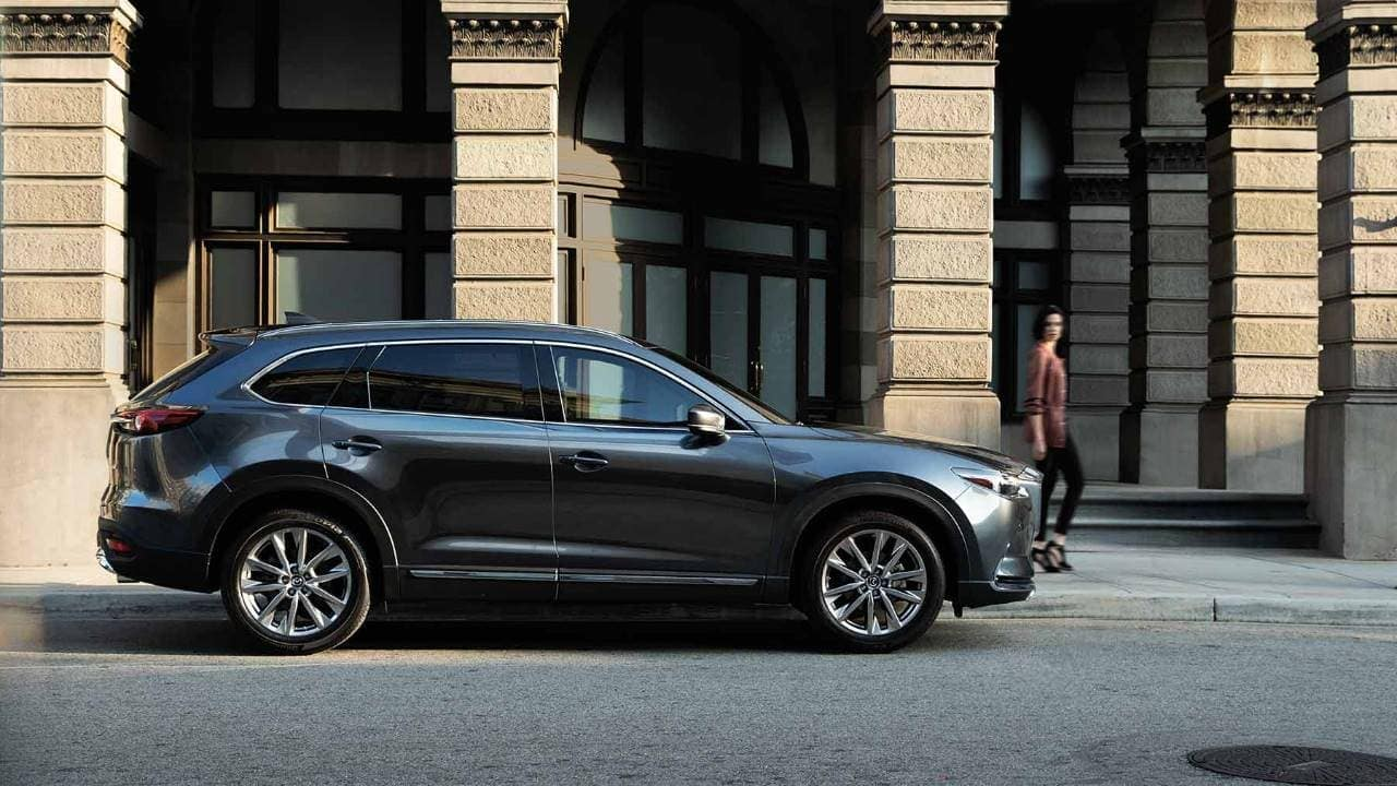 2019 Mazda CX-9 on a city street