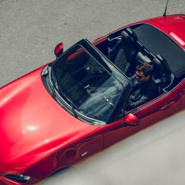 2019 Mazda MX-5 Miata with the top down