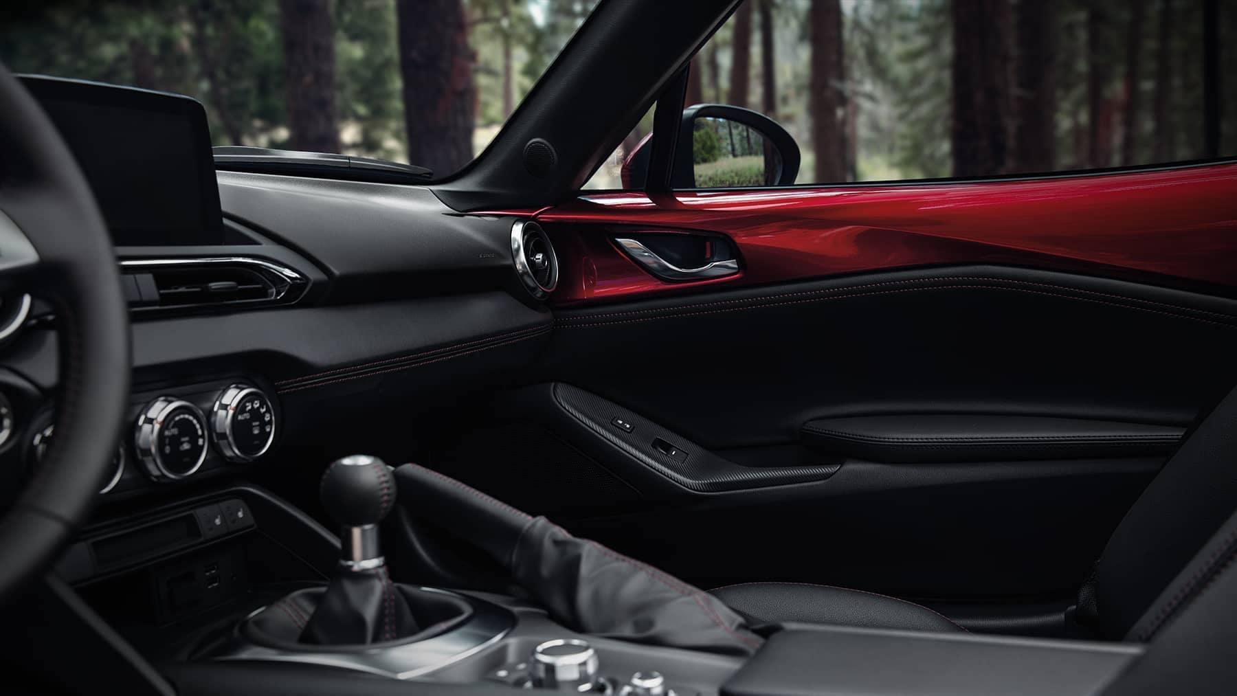 2019 Mazda MX-5 Miata passenger seat