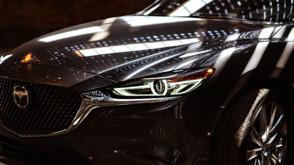 2019 Mazda6 headlight