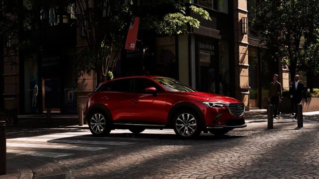 2019 Mazda CX-3 parked