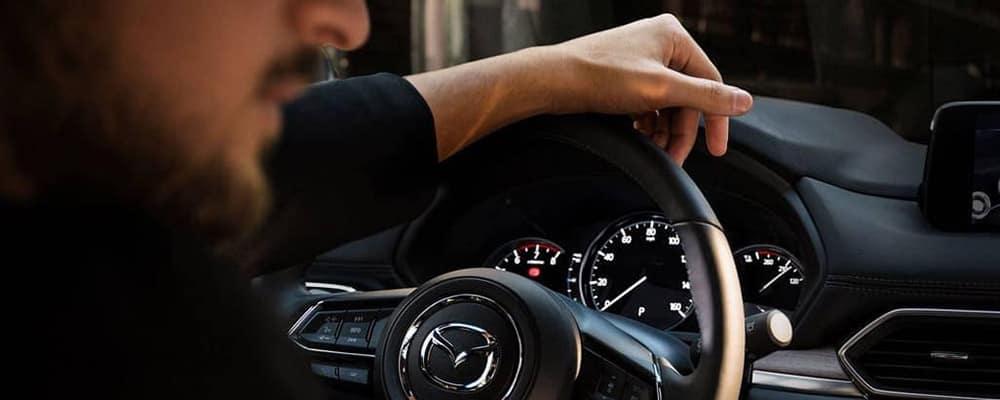 Driver in 2019 Mazda CX-5