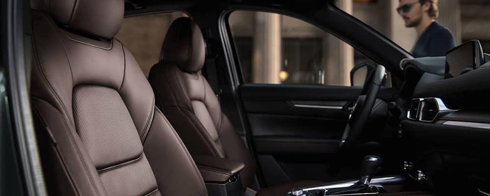 2020 Mazda CX-5 signature interior view