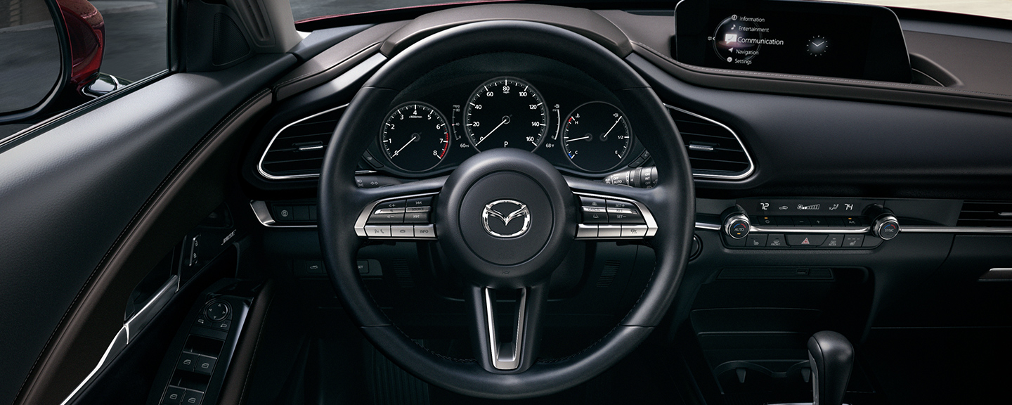 2020 Mazda CX-30 dashboard