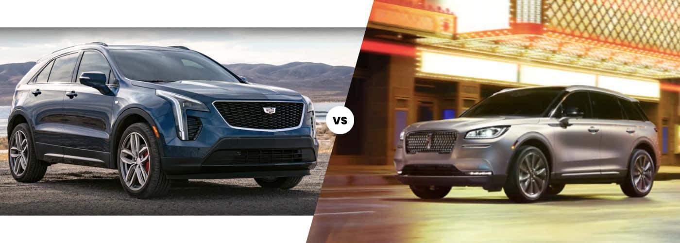 2021 Cadillac XT4 vs. Lincoln Corsair