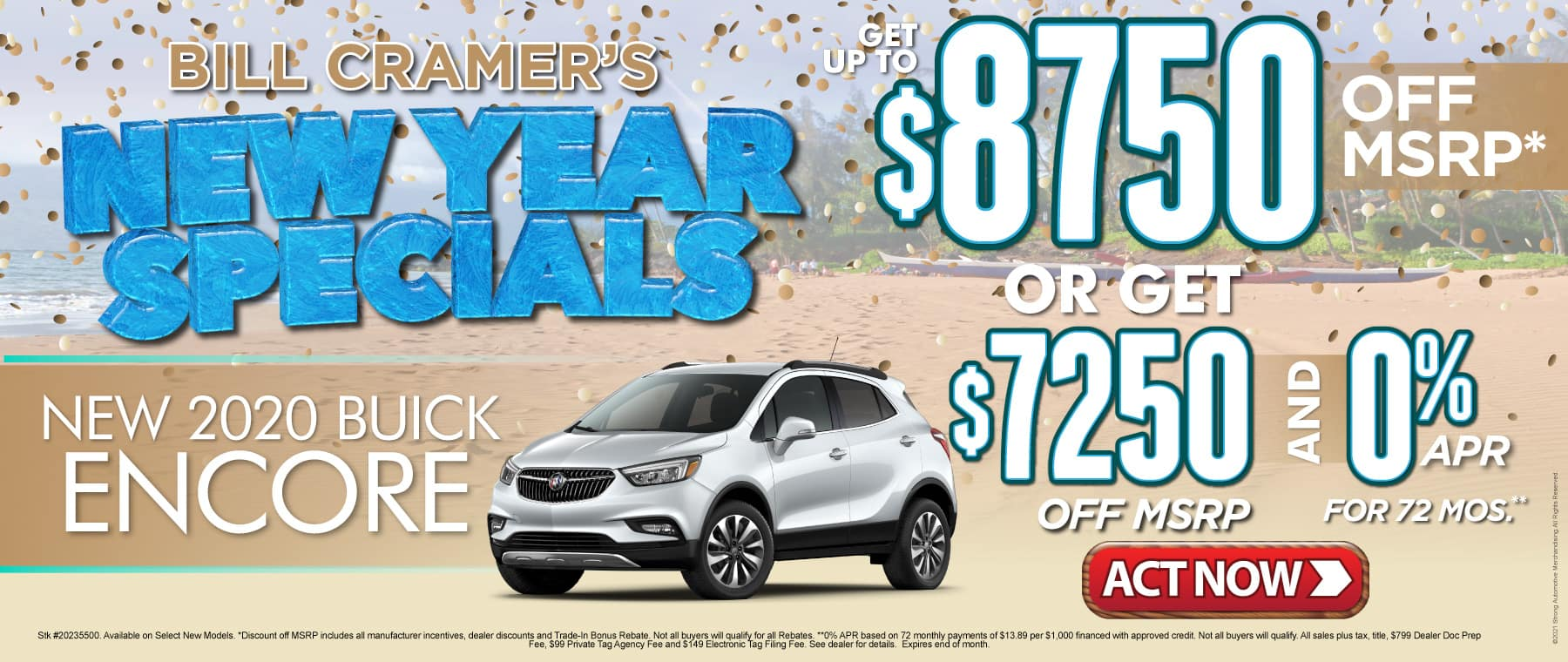 New 2020 Buick Encore - Get up to $8750 off msrp - Act Now