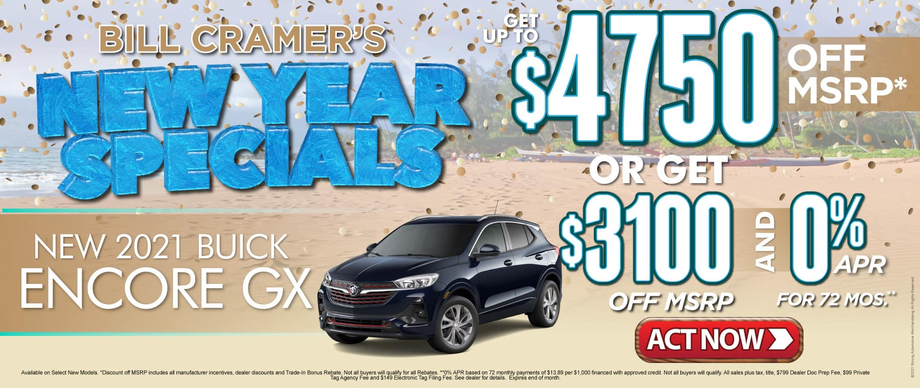 New 2021 Buick Encore GX - Get up to $4750 off msrp - Act Now