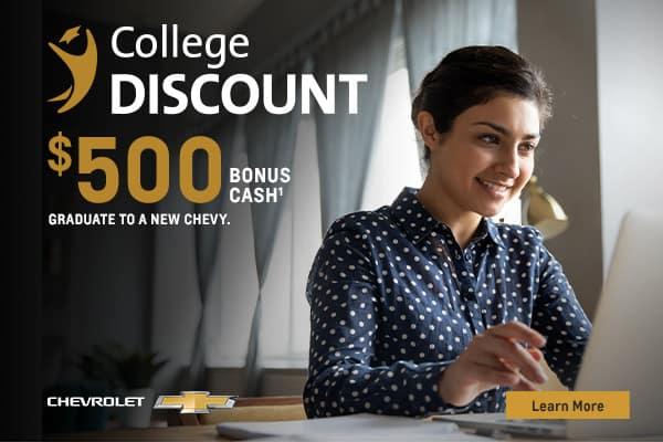 college discount