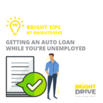 Getting auto loan without a job