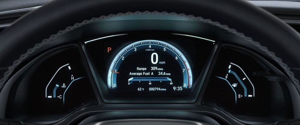 Honda Dash Display
