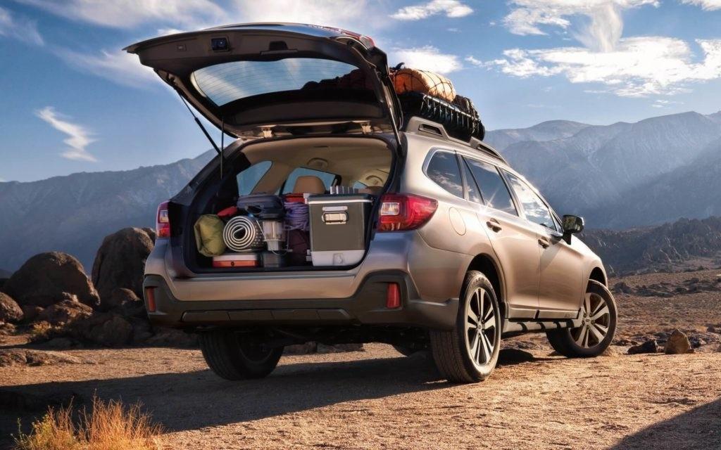 2018 Subaru Outback trunk