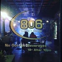The 806 Coffee + Lounge logo