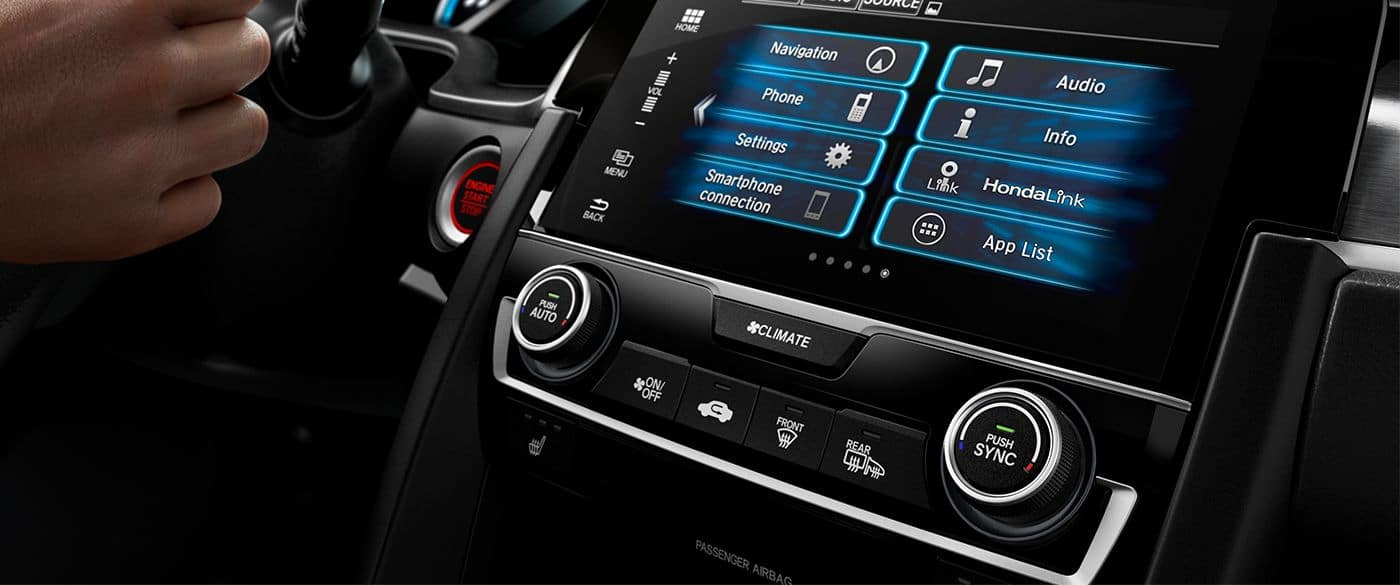 Honda Touchscreen