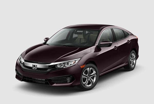 2019 Honda Civic Colors Civic Exterior Interior Color Options