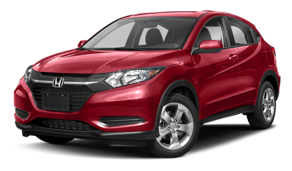 Red Honda HR-V