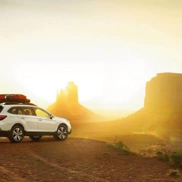 2019 Subaru Outback Parked in Dessert
