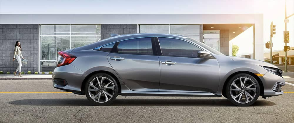 2019 Honda Civic Side Profile