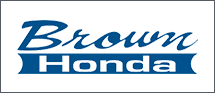 Brown Honda dealer logo