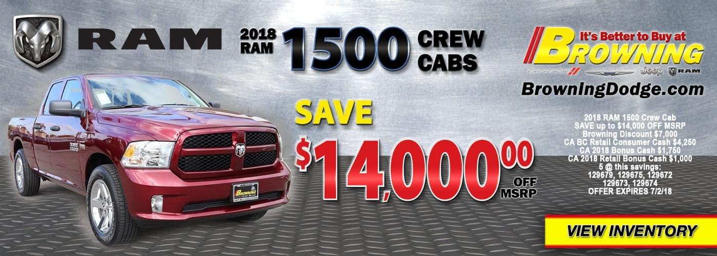 2018Ram1500CrewCab