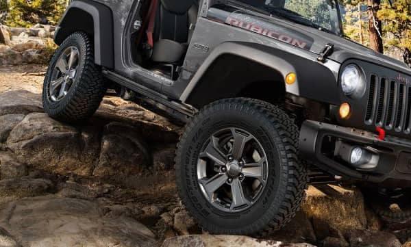 2018 Jeep Wrangler JK Tires