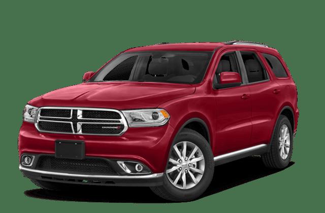 Red 2018 Dodge Durango