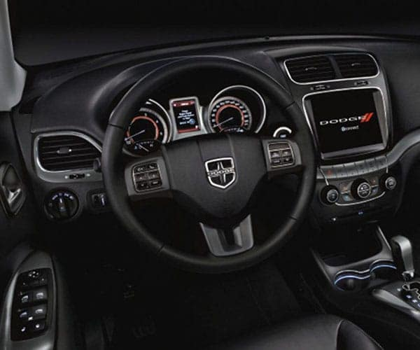 2017 Dodge Interior Steering Wheel Black