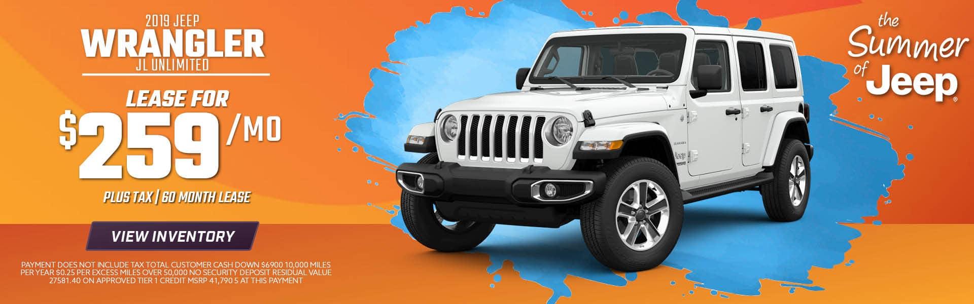 2019 Jeep Wrangler Special in Norco, CA