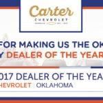 Carter Chevrolet wins two Dealer Rater awards