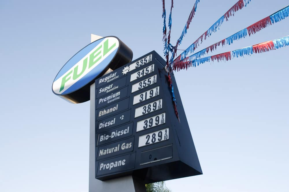 2018 Gas Prices